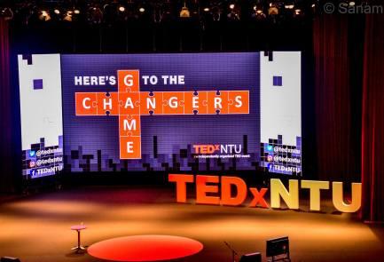 TEDxNTU stage!