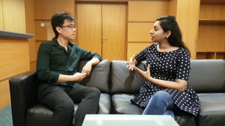 In conversation with Brandon Koh, winner of the 3MT challenge
